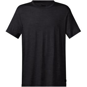 Bergans Oslo Wool Camiseta Hombre, negro